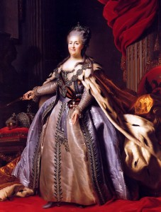 Catherine_II_by_F.Rokotov_after_Roslin_(1780s,_Hermitage)_2