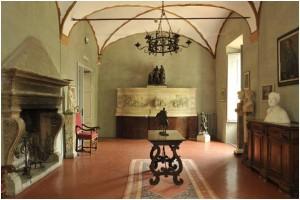 Museo Pietro Canonica - Sala del camino