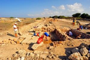 Gli scavi di quest'anno. Foto di Robert Słaboński
