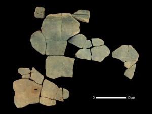 Frammenti di ceramiche oggetto dello studio. Credit: Prof. Hiroki Obata