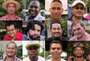 I volti dei membri del team dello Smithsonian Tropical Research Institute testimoniano la diversità umana a Panama. Credit: Jorge Aleman, STRI