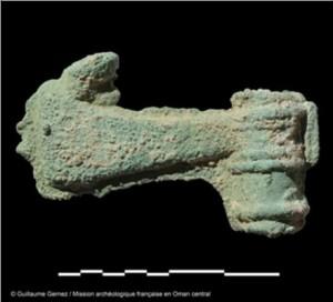Mudhmar Est - Ascia incompleta, fatta di rame/bronzo