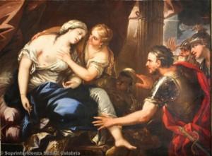 Luca Giordano - Morte di Lucrezia