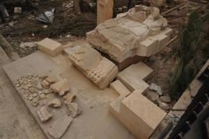 La statua del leone dal tempio di Allat è in condizioni migliori di quanto precedentemente ritenuto dagli scienziati. Foto di Bartosz Markowski