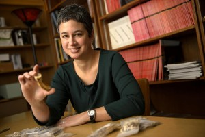 La professoressa associata di antropologia, Michele R. Buzon. Credit: Purdue University photo/Charles Jischke