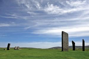 Le pietre erette di Stenness. Credit: Copyright Douglas Scott.