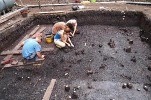 Scavo nel villaggio neolitico di Palù di Livenza