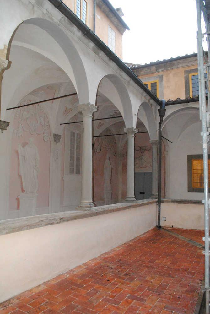 Il Chiostro dopo il restauro ©CertosadiCalci-MiBACT-MiBACT