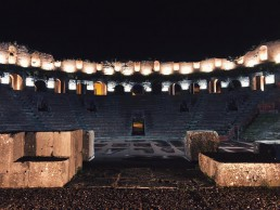 Benevento Campania by night