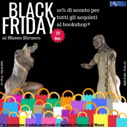 Museo Nazionale Etrusco di Villa Giulia Black Friday