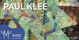 Paul Klee primitivismo MUDEC Milano