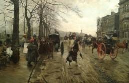 Ottocento in Collezione Dai Macchiaioli a Segantini mostre Giuseppe De Nittis Piccadilly