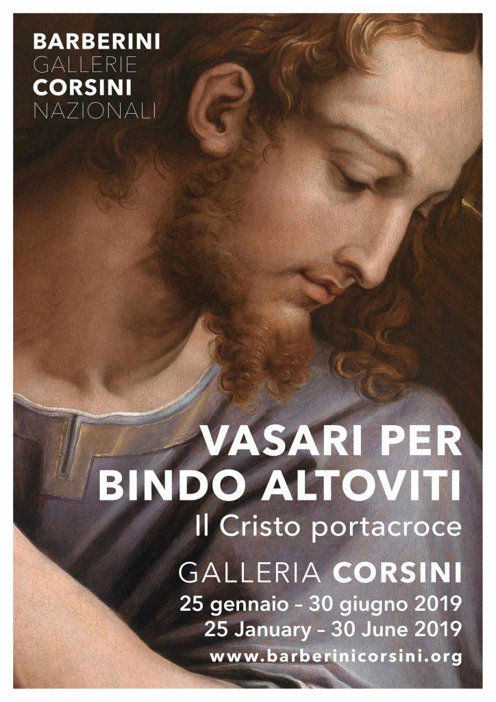 Il Cristo portacroce Giorgio Vasari Roma Galleria Corsini Roma Vasari per Bindo Altoviti
