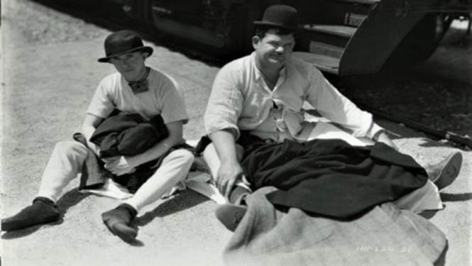 Stan Laurel Oliver Hardy risata lunga 90 anni