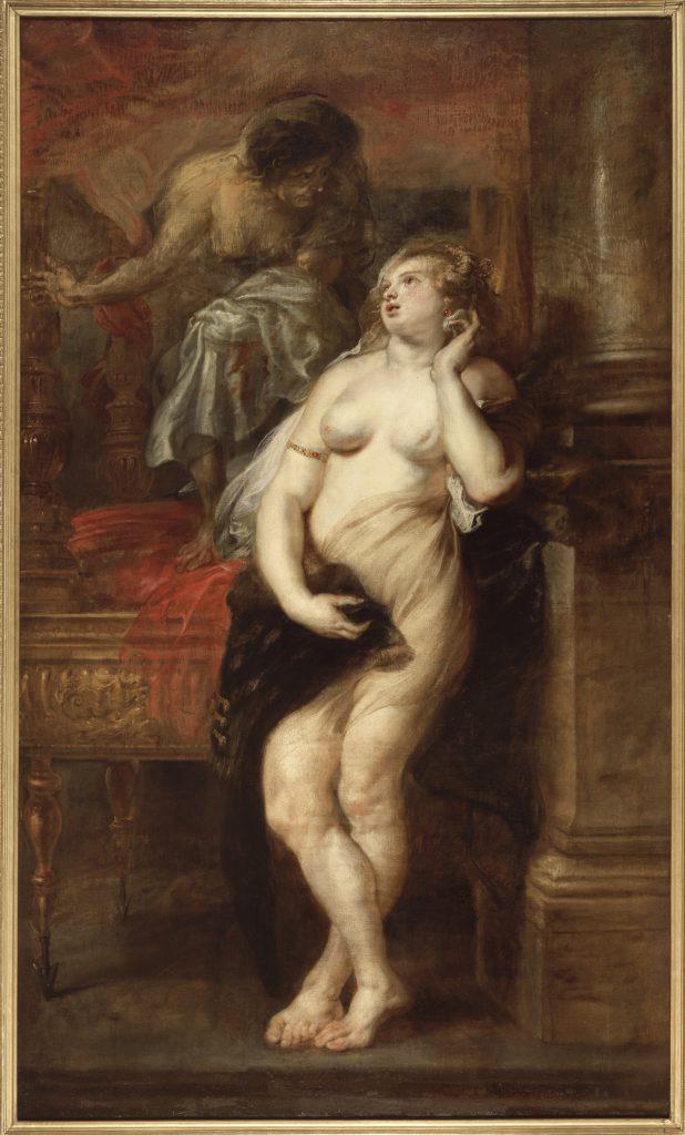 Deyanira tentata dalla Furia Palazzo di Lebrija Siviglia