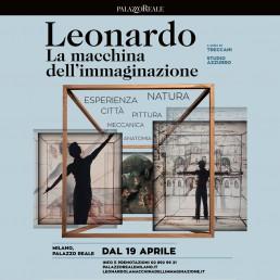 Leonardo La macchina dell'immaginazione mostra Palazzo Reale di Milano