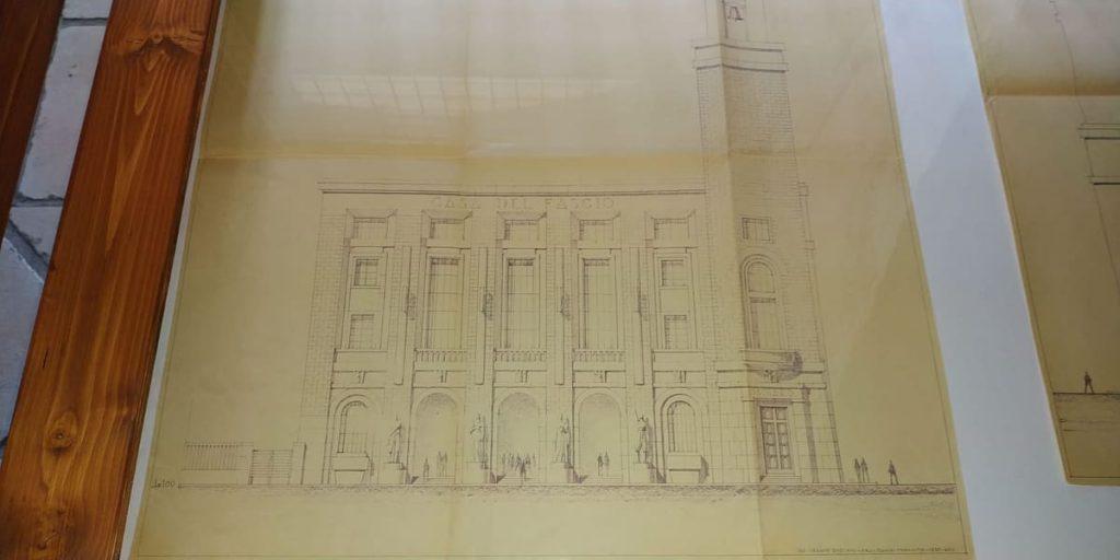 Cesare Bazzani architettura Taranto