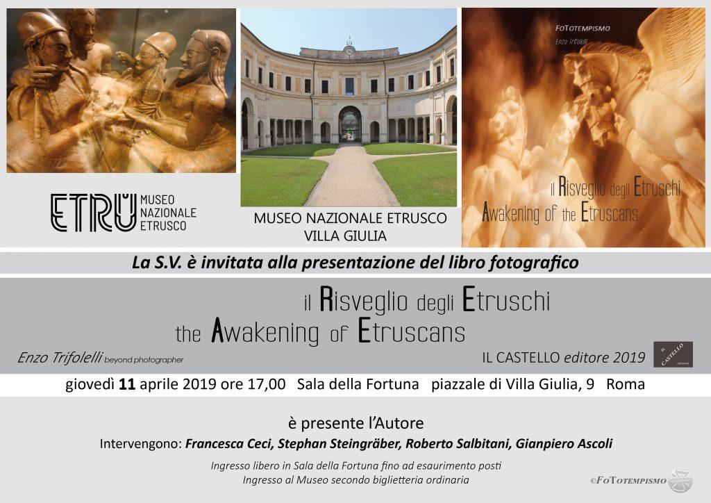 Museo Nazionale Etrusco di Villa Giulia Aprile 2019