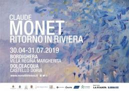 Claude Monet Ritorno in Riviera Bordighera Dolceacqua mostre