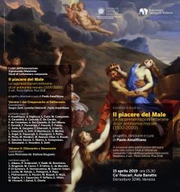 Il Piacere del Male. Le rappresentazioni letterarie di un'antinomia morale (1500-2000) Ca' Foscari Venezia