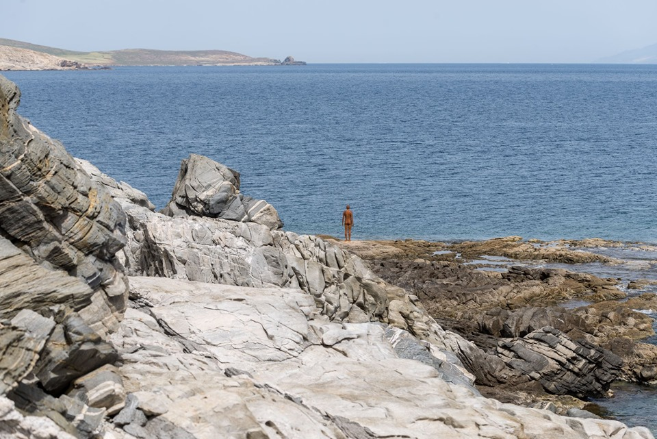 Sight mostra Antony Gormley isola di Delo
