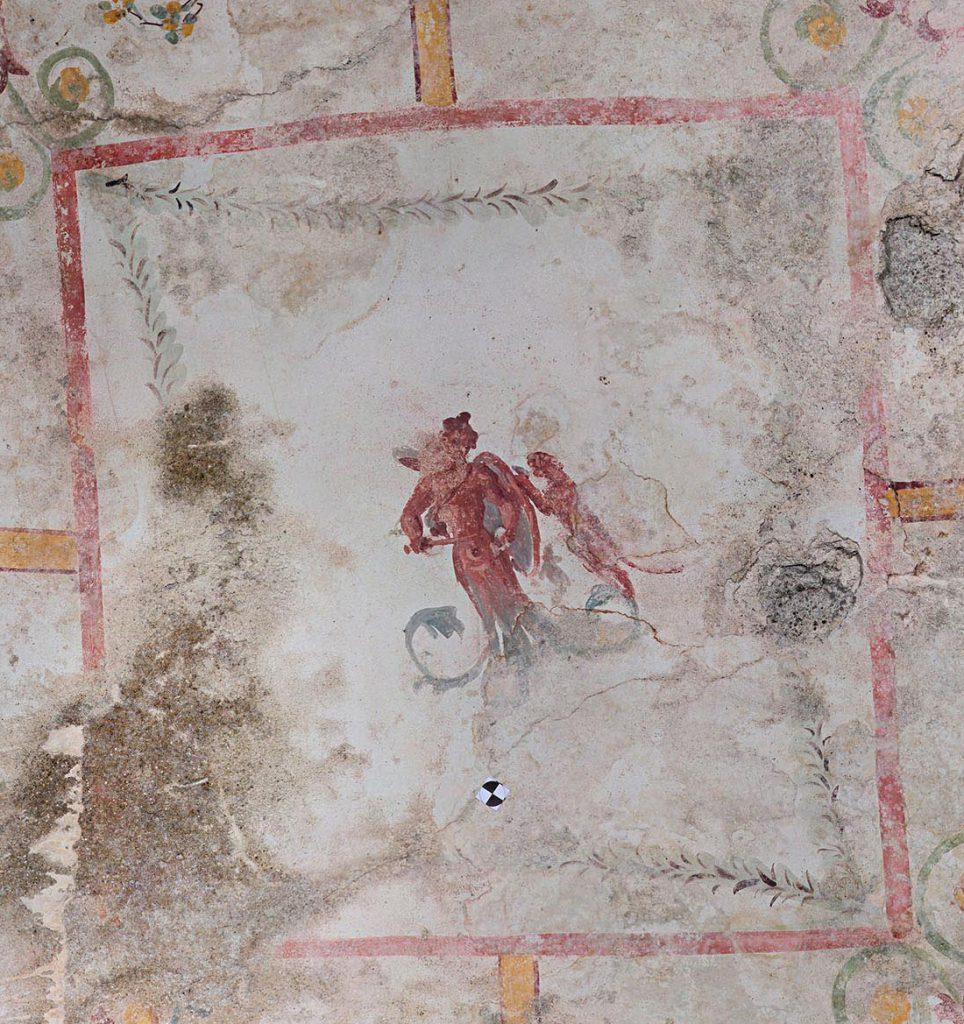 Figurina armata con pantera dalla Sala della Sfinge. Crediti: Parco archeologico del Colosseo