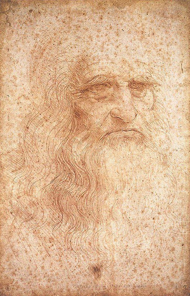 Leonardo da Vinci hand