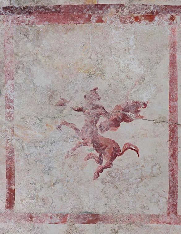 Centauro dalla Sala della Sfinge. Crediti: Parco archeologico del Colosseo