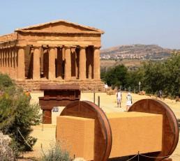 COSTRUIRE PER GLI DEI. Il cantiere nel mondo classico Valle dei Templi Agrigenti