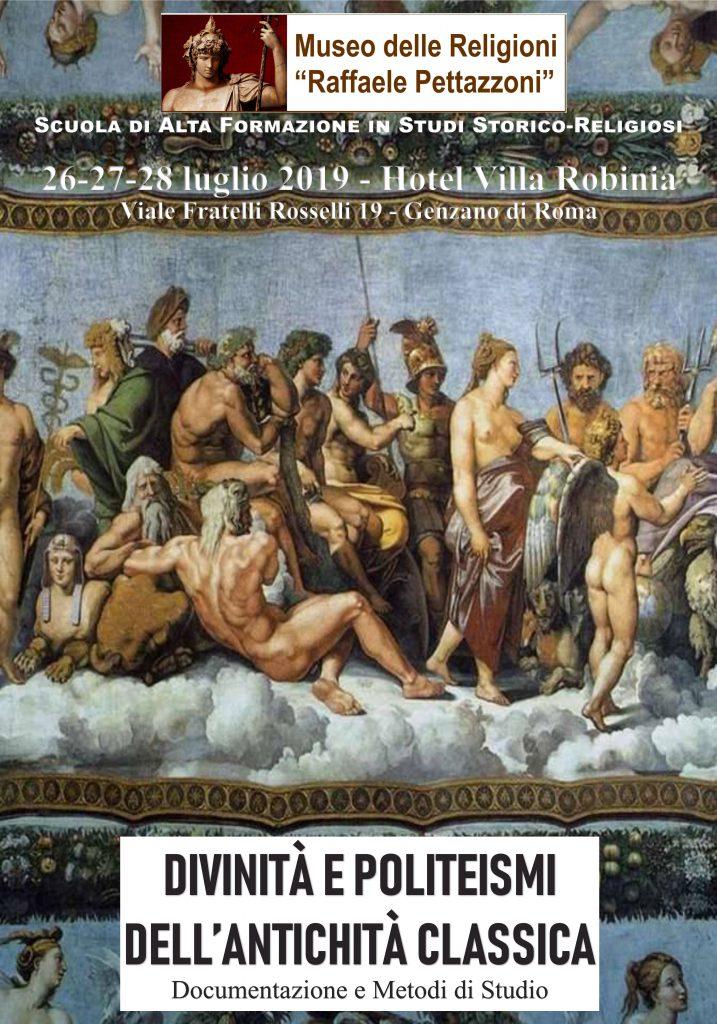 Divinità ePoliteismidell'Antichità Classica. Documentazione e Metodi di Studio
