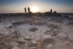 The stone-made semi-sunken structure from Shubayqa 1 (photo by Alexis Pantos)