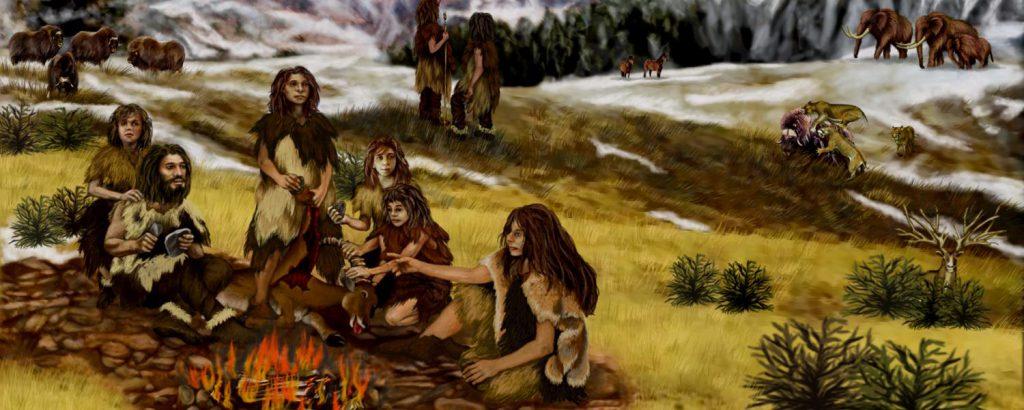 Neanderthals glue stone tools