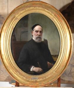 Francesco Hayez, Autoritratto, 1878, tela, cm 58 x 46