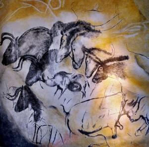 640px-Chauvet´s_cave_horses