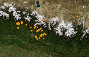 U.S._Geological_Survey_2015_Nepal_Earthquake_and_aftershock_map