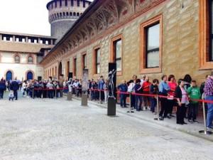 Coda al Castello per Pietà Rondanini.JPG