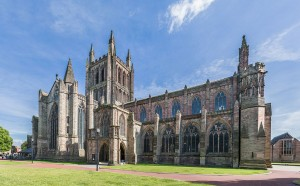 Hereford_Cathedral_Exterior_from_NW,_Herefordshire,_UK_-_Diliff