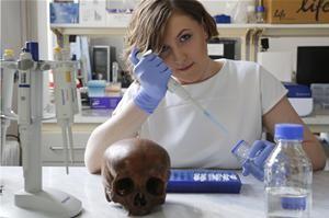 Nella foto: Martyna Molak-Tomsia. Fonte: The Foundation for Polish Science