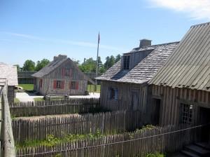 800px-Fort_Michilimackinac_backyards