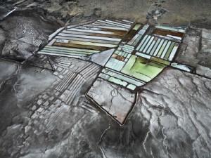 3. Edward Burtynsky. Delta del fiume Colorado n. 8. Saline Bassa California Messico 2012.jpg