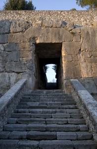 La Porta Maggiore nel tratto sudorientale dell'Acropoli