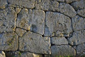 Particolare delle Mura Poligonali di Alatri