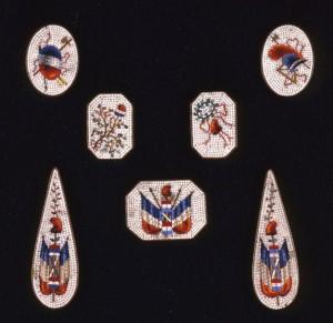 Pendenti repubblicani (micromosaico)