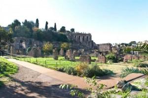 Senza Barriere - Tratto del percorso nel Foro Romano