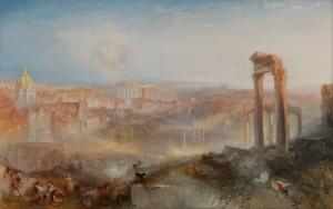 J. M. W. Turner, Modern Rome. Campo vaccino, 1839 J. Paul Getty Museum, Los Angeles