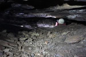 Archeologo al lavoro nella miniera di 5.000 anni fa a Thorikos. Credit: Ghent University