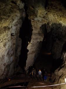 Milner Hall, nelle grotte Sterkfontein. Credit: Dominic Stratford