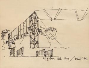 Costantino-Dardi-galleria Pace 1984