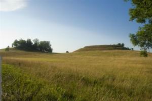 Vista dell'insediamento a Skomack Wielki, foto: Museo Archeologico Statale a Varsavia