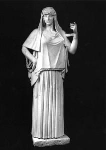 Haestia Giustiniani, simulacro di Vesta, principale ornamento della Galleria Giustiniani. (n. catalogo 490)